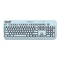 Esterline Medigenic Essential - keyboard - US - light blue