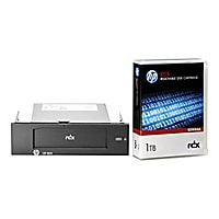 HPE RDX Removable Disk Backup System - RDX drive - SuperSpeed USB 3.0 - int