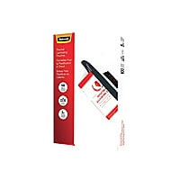 Fellowes Legal - 100-pack - clear - 229 x 368 mm - glossy laminating pouche