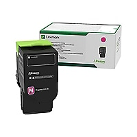 Lexmark 701XM - Extra High Yield - magenta - original - toner cartridge - L