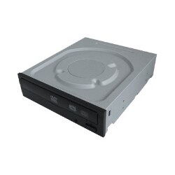 Total Micro 24x DVD+/-RW Black SATA Drive