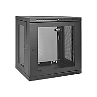 Tripp Lite 12U Wall Mount Rack Enclosure Server Cabinet w/ Door & Side Pane