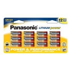 Panasonic Photo Power Large Family Pack battery - 12 x CR123 - Li