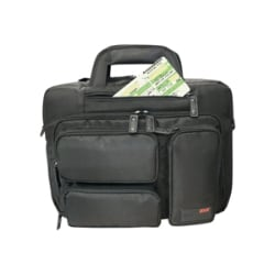 "Mobile Edge Corporate 16"" Laptop & Tablet Briefcase notebook carrying case"
