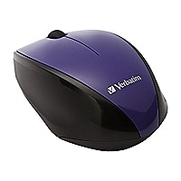 Verbatim Wireless Multi-Trac Blue LED - mouse - purple