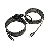 Tripp Lite 25' USB 2.0 Hi-Speed A/B Active Repeater Cable M/M 25'