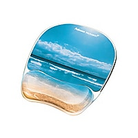Fellowes Photo Gel mouse pad with wrist pillow