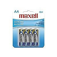 Maxell Gold LR6 batterie - 4 x type AA - Alcaline