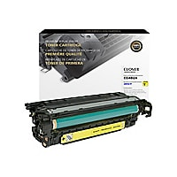 Clover Remanufactured Toner for HP CE402A (507A), Yellow, 6,000 page yield