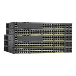 Cisco Catalyst 2960X-48LPS-L - switch - 48 ports - managed - rack-mountable