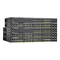 Cisco Catalyst 2960X-48TS-LL - switch - 48 ports - managed - rack-mountable