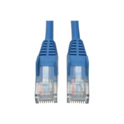 Tripp Lite 4ft Cat5e / Cat5 350MHz Snagless Patch Cable RJ45 M/M Blue 4'