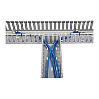 StarTech.com 3x3in Open Slot Wiring Cable Raceway Duct with Cover
