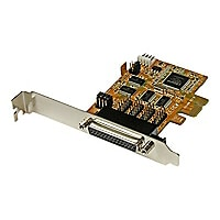 StarTech.com 4 Port PCI Express (PCIe) RS232 Serial Card w/ Power and ESD