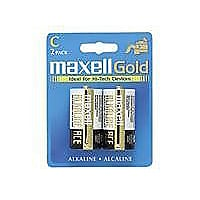 Maxell Gold LR14 - batterie - 2 x C - Alcaline