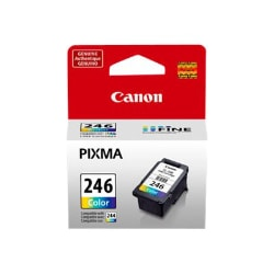 Canon CL-246 - color (cyan, magenta, yellow) - original - ink cartridge