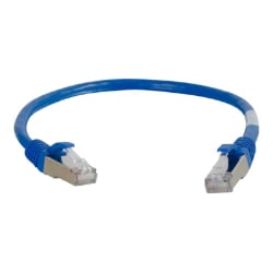 C2G Cat6a Snagless Shielded (STP) Network Patch Cable - patch cable - 35 ft