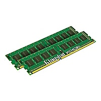 Kingston ValueRAM - DDR3 - 8 GB: 2 x 4 GB - DIMM 240-pin - unbuffered