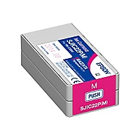 Epson SJIC22P(M) - magenta - original - ink cartridge