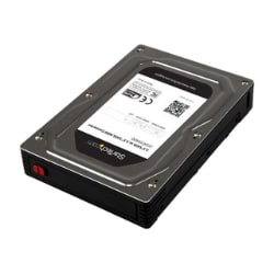 """StarTech.com 2.5"""" to 3.5"""" SATA Hard Drive Adapter Enclosure with SSD / HDD"""