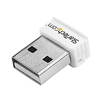 StarTech.com USB 150Mbps Wireless N Network Adapter 802.11n 1T1R - White