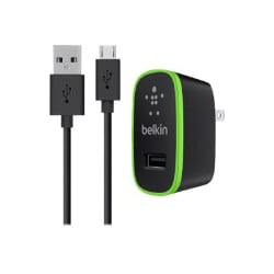 Belkin Universal Home Charger with Micro USB ChargeSync Cable - power adapt