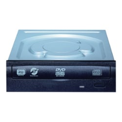 LiteOn iHAS124 Internal DVD Drive - Black