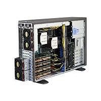 Supermicro SuperWorkstation 7048GR-TR - tower - no CPU - 0 MB