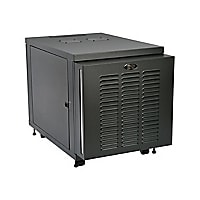 Tripp Lite 12U Industrial Rack Floor Enclosure Server Cabinet Doors & Sides