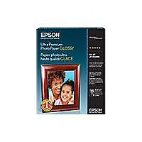 Epson Ultra Premium Glossy Photo Paper - photo paper - 20 sheet(s) - 5 in x