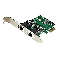 StarTech.com Dual Port Gigabit PCI Express Network Adapter Card - PCIe NIC