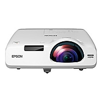 Epson PowerLite 525W - 3LCD projector - short-throw - LAN