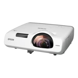 Epson PowerLite 520 - 3LCD projector - short-throw - LAN