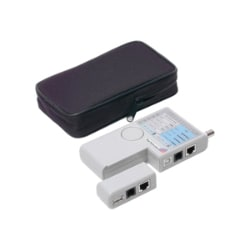 StarTech.com Professional Multi Function RJ45 RJ11 USB and BNC Cable Tester