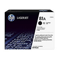 HP 81A - black - original - LaserJet - toner cartridge (CF281A)