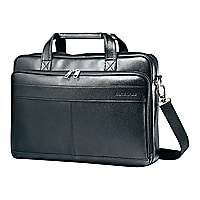 Samsonite Leather Business Slim Brief - notebook carrying case