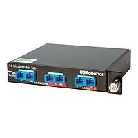 USRobotics 10/1 Gigabit SR/SX Multi-Mode Fiber Network Tap - tap splitter -