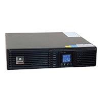 Liebert GXT4 Online UPS 1000VA 900W 120V Double-Conversion 1U LCD - UPS - 9