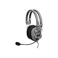 Hamilton HA5USBSM Deluxe USB Headphone with Microphone - headset