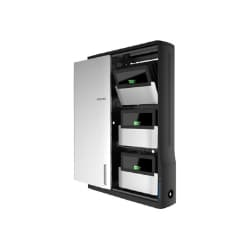 Ergotron Zip 12 Charging Wall Cabinet - Cabinet Unit
