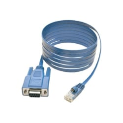 Tripp Lite RJ45 to DB9F Cisco Serial Console Port Rollover Cable 6' 6ft