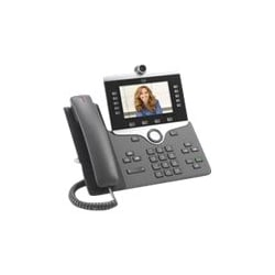 Cisco IP Phone 8865 - IP video phone - with digital camera, Bluetooth inter