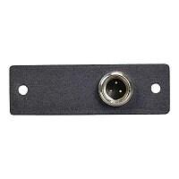 C2G Wiremold Audio/Video Interface Plates (AVIP) Switchcraft Mini XLR 3-Pin