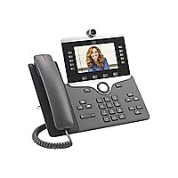Cisco IP Phone 8845 - IP video phone - with digital camera, Bluetooth inter
