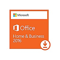 Microsoft Office Home and Business 2016 License 1 PC