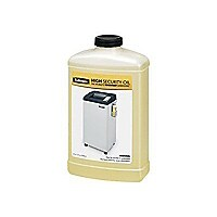 Fellowes High Security Shredder Lubricant - cleaning oil / lubricant