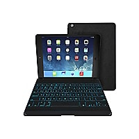 ZAGG Folio - keyboard and folio case - English - US