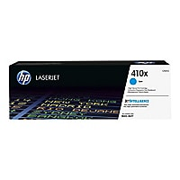 HP 410X - High Yield - cyan - original - LaserJet - toner cartridge (CF411X