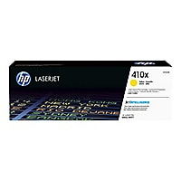 HP 410X - High Yield - yellow - original - LaserJet - toner cartridge (CF41