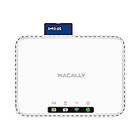 Macally Media Hub and Travel Router - network media streaming adapter